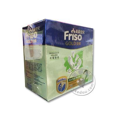香港代购 港版荷兰美素佳儿奶粉2阶段 (金装纸盒1200克 Friso Gold P2)