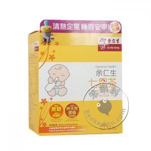 香港购 余仁生七星茶12茶包 (Eu Yan Sang Infant's Calming Herbal Tea)