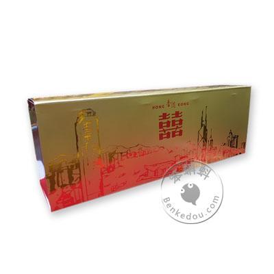 香港代购 南洋红双喜罐装铁盒(香港纪念版) Double Happiness cigarettes since 1905 (共4罐,每罐50支共200支)